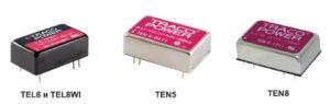TEL 8WI — новые компактные модульные источники питания от Traco Power