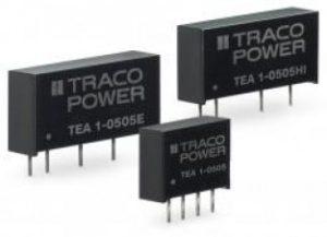 Серия TEA – новые 1 ваттные DC/DC преобразователи от компании Traco Power